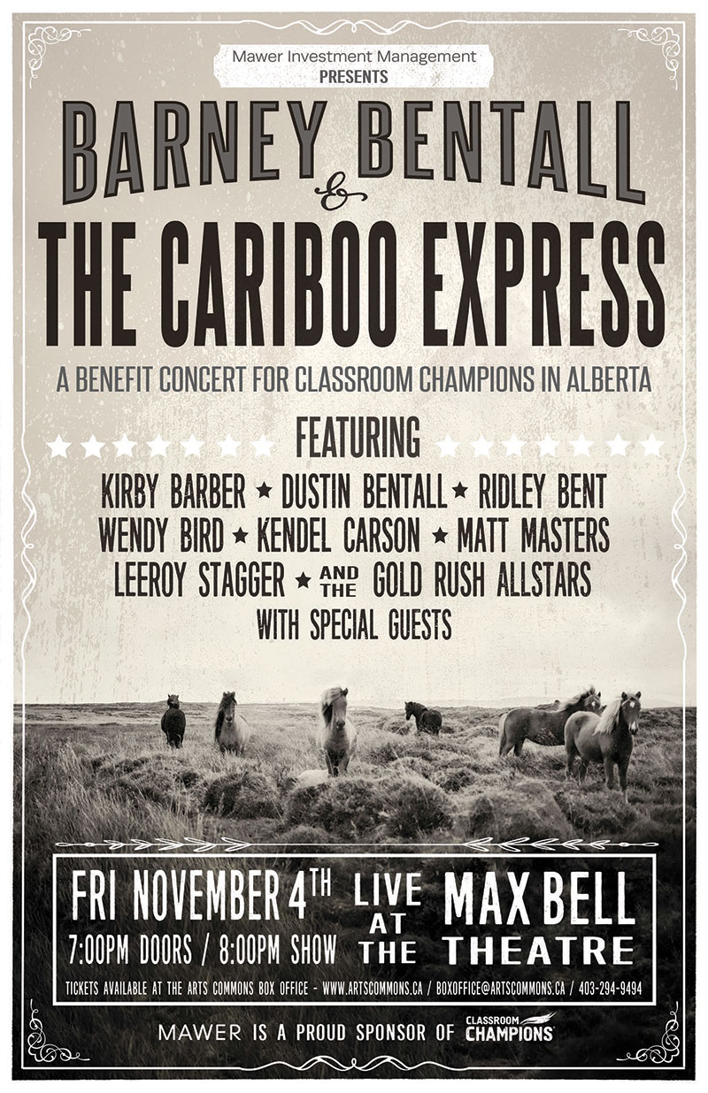 Barney Bentall & The Cariboo Express 2016