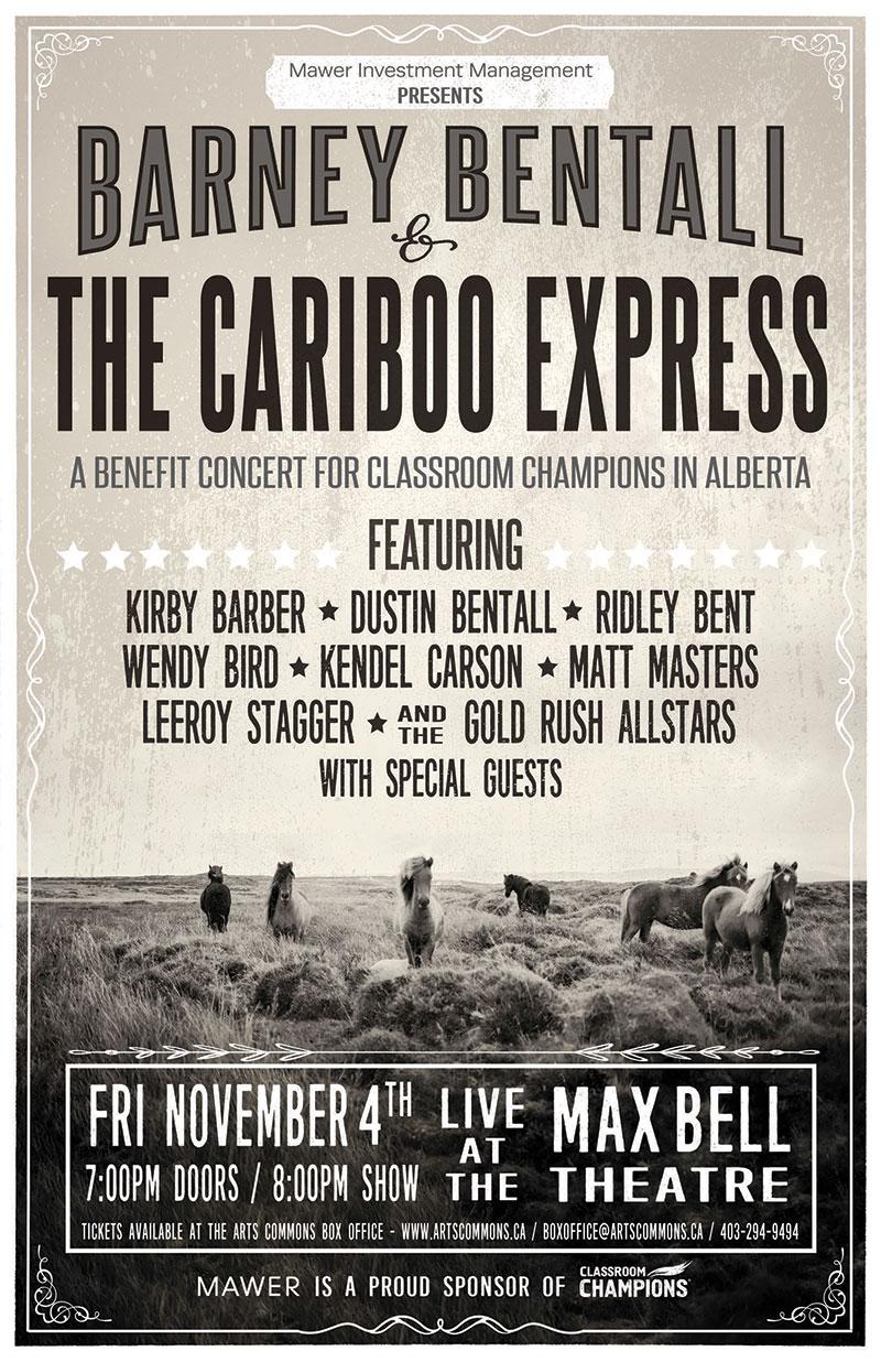 Barney Bentall & The Cariboo Express 2016