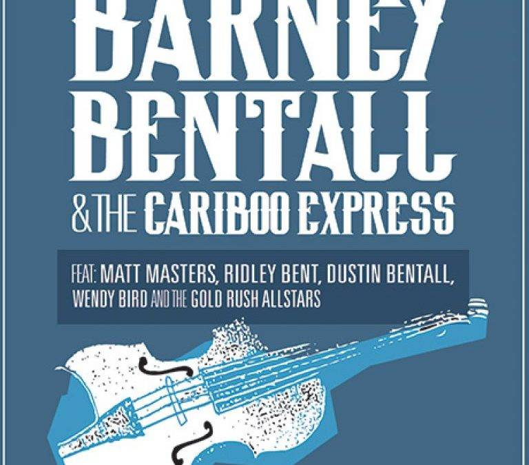 Barney Bentall & The Cariboo Express 2015