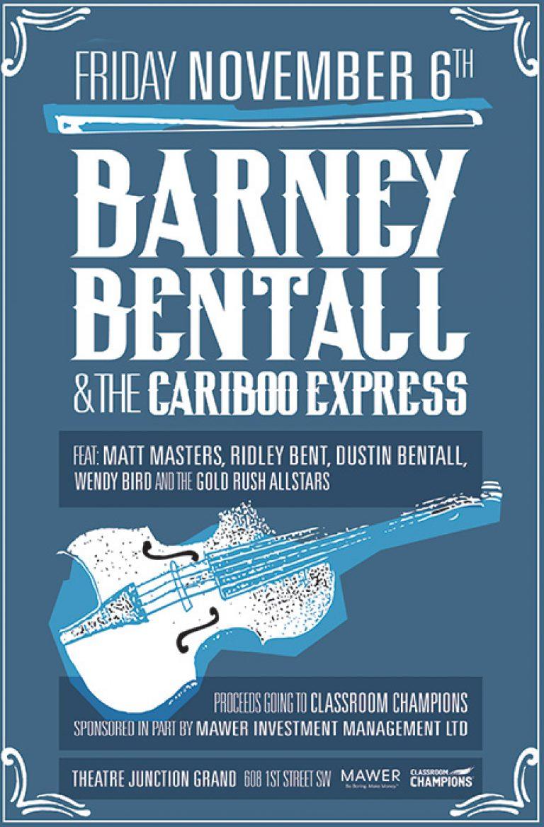 Barney Bentall & The Cariboo Express 2015