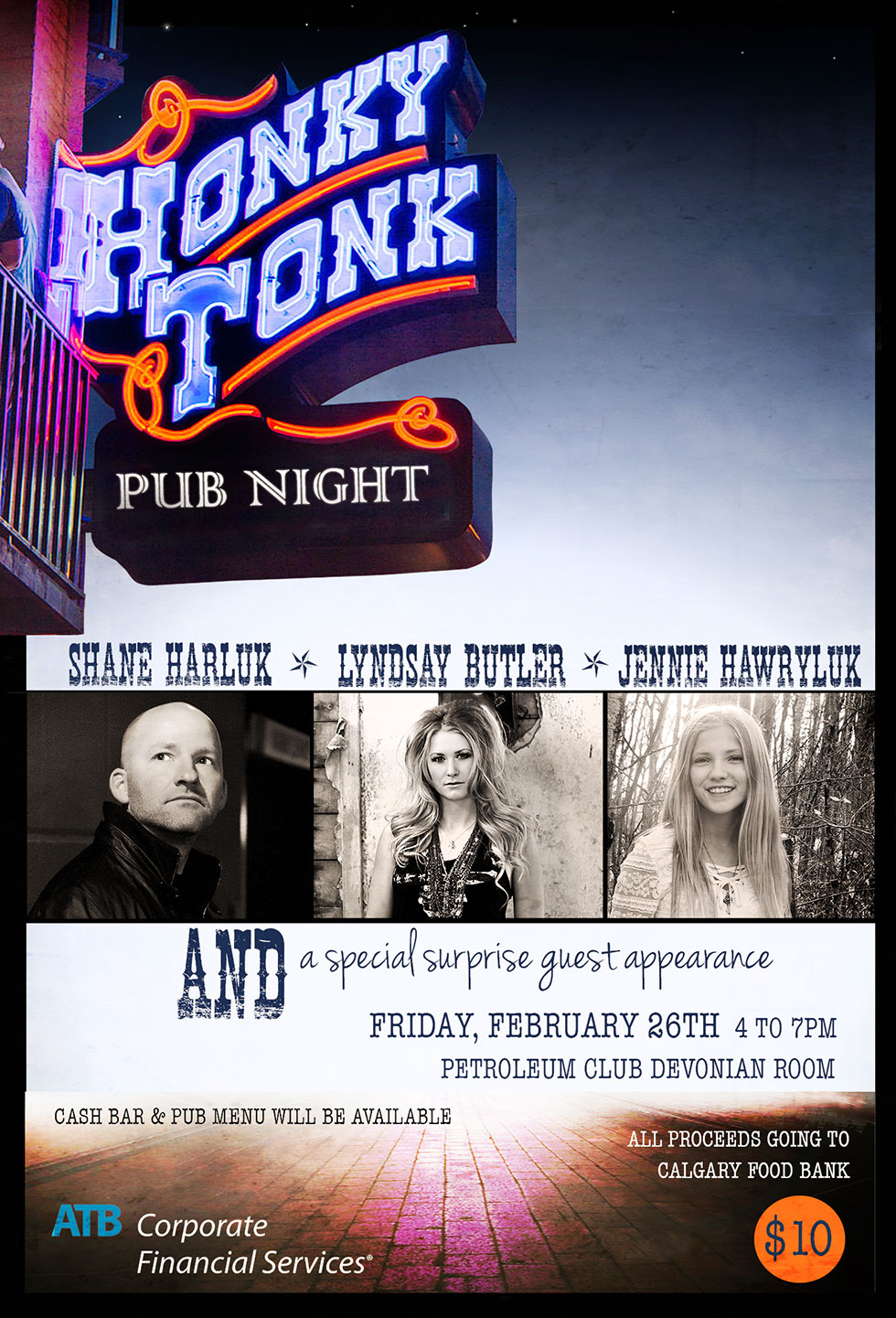 Honky Tonk Pub Night