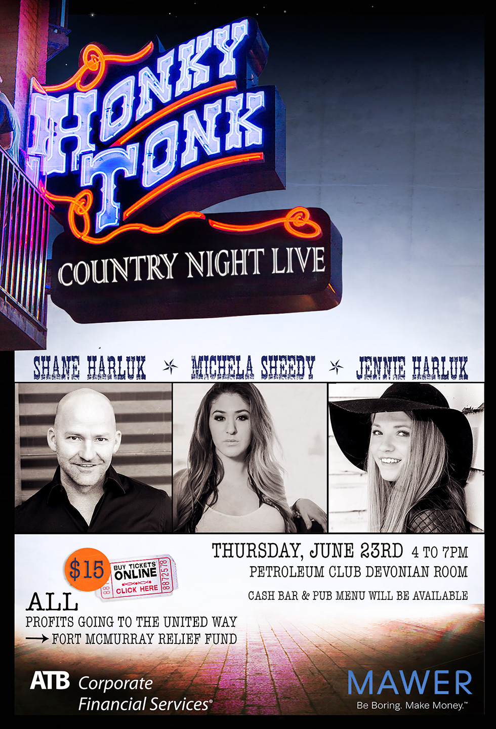 Honky Tonk Country Night Live