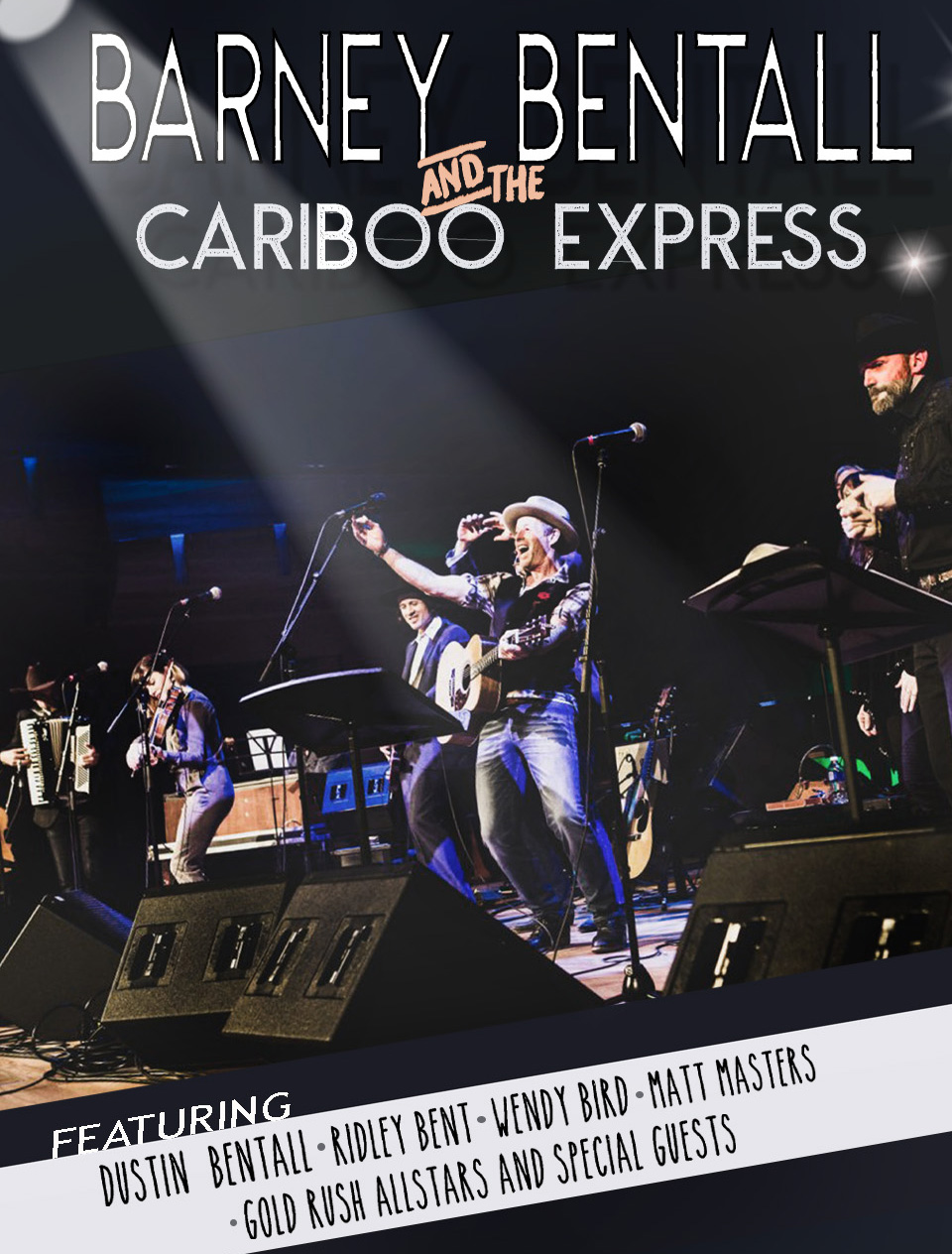 Barney Bentall & The Cariboo Express 2019