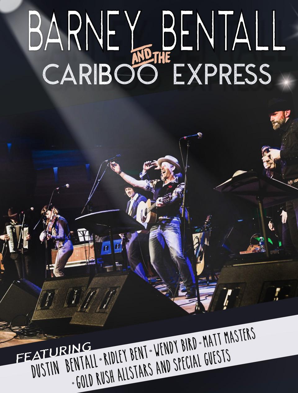 Barney Bentall & The Cariboo Express 2019